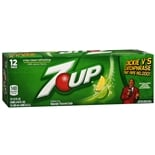 7-Up Soda 12 Pack Cans Lemon-Lime