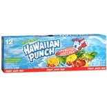 Hawaiian Punch Fruit Punch Beverage 12 Pack Fruit Juicy Red