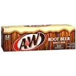 A&W Root Beer Soda 12 Pack Cans