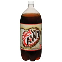 Root Beer Soda 2 Liter Bottle
