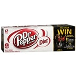 Diet Dr Pepper Soda 12 Pack Cans 12 oz/12 Pack Cans