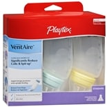 Playtex VentAire VentAire Baby Bottles Slow Flow Standard 6 oz