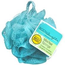 Body Benefits Mini Net Sponge, Blue
