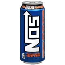 High Performance Energy Drink 16 oz Can