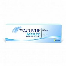 wag-1-Day Acuvue Moist 30 pack Contact Lens