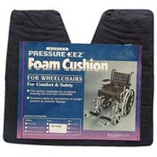 Flat Wheelchair Coccyx Cushion with Cover, 18x16x3