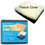 Hudson Medical Convoluted Cushion with Poly Fleece Cover 18x16x3