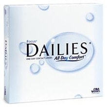 Focus Dailies 90 pack Contact Lens
