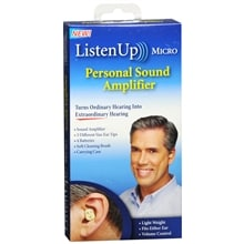 Listen Up Micro Personal Sound Amplifier
