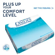 Dailies AquaComfort Plus 90 pack Contact Lens