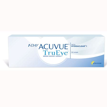 Acuvue 1-Day Trueye 30 Pack Contact Lenses 1 Box