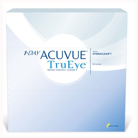 Acuvue 1-Day Trueye 90 Pack Contact Lenses 1 Box