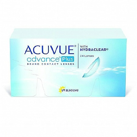 Acuvue Advance Plus 24 Pack Contact Lenses 1 Box