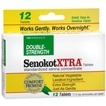Senokot Xtra Natural Vegetable Laxative Tablets