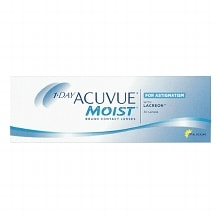 1-Day Acuvue Moist for Astigmatism 30 pack Contact Lens