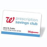 Prescription Savings Club Individual Membership Card