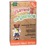 Yummi Bears Organics Immunity Shield Dietary Supplement Gummies