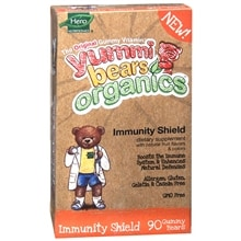 Organics Immunity Shield Dietary Supplement Gummies