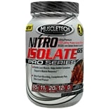 Muscletech Nitro Isolate 65 Pro Series Whey Protein Dietary Supplement Powder Triple Chocolate