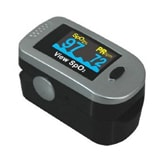 MedQuip Pulse Oximeter Finger Color Multi Direction