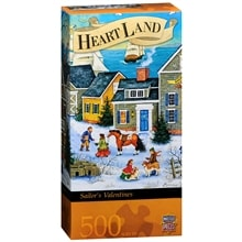 Heartland Sailor's Valentines 500 Piece Jigsaw Puzzle, Assorted