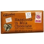 Chocolove Milk Chocolate Bar Hazelnuts