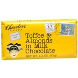 Chocolove Milk Chocolate Bar Toffee & Almonds