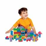 Edushape Textured Blocks 80pcs.