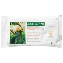 Eco Sensitive Baby Wipes, Unscented