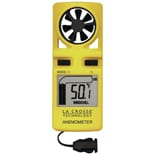 La Crosse Technology Handheld Backlit Anemometer with Neckstrap EA-3010U