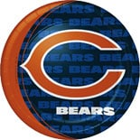 BuySeasons Chicago Bears Dinner Plates
