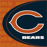 BuySeasons Chicago Bears Lunch Napkins