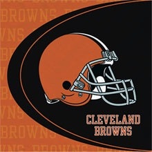 Cleveland Browns Lunch Napkins
