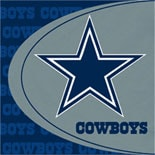 BuySeasons Dallas Cowboys Lunch Napkins