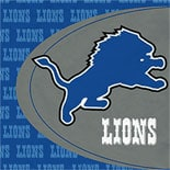 BuySeasons Detroit Lions Lunch Napkins