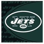 BuySeasons New York Jets Lunch Napkins