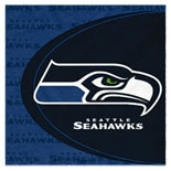 BuySeasons Seattle Seahawks Lunch Napkins