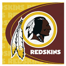 Washington Redskins Lunch Napkins