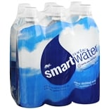 Glaceau Smartwater Vapor Distilled Water 6 Pack