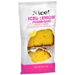 Nice! Pound Cake Iced Lemon