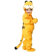Garfield Child Costume, Small 4/6