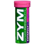 Zym Catapult Portable Electrolyte Drink Dietary Supplement Effervescent Tablets Berry