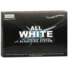 All White Bleaching Gel System, 10% Carbamide Peroxide