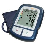 Clever Choice Fully Automatic Digital Arm Blood Pressure Monitor with 120 Memory