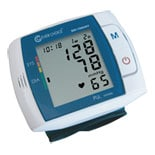 Clever Choice Fully Automatic Digital Talking Wrist Blood Pressure Monitor with 120 Memory