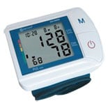 Clever Choice Fully Automatic Digital Wrist Blood Pressure Monitor with 120 Memory
