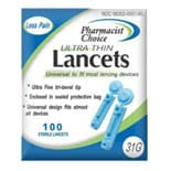 Pharmacist Choice Twist Top 31G Lancets