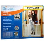 Extra-Wide Hallway Security Gate