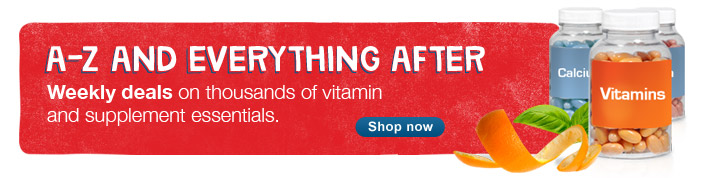 Weekly deals on thousands of vitamin and supplement essentials - Shop now.