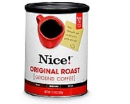 Get 1,000 points when you buy Nice!(TM) Original Roast Ground Coffee, 11.3 oz.